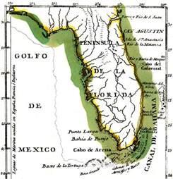 peninsula de la florida 1783