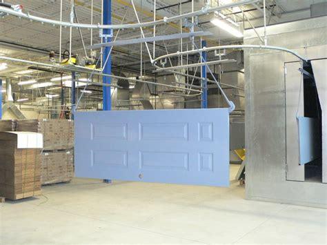 door to door lines spray painting conveyor systems pacline