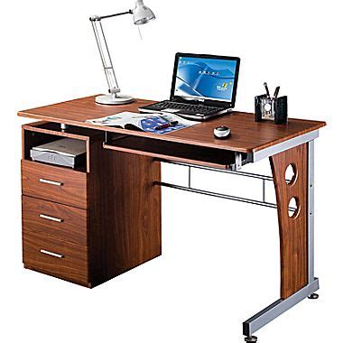 Laptop Desks With Storage Rta Products Techni Mobili Computer Desk With Storage Mahogany Rta 3520 M615 Staples 174