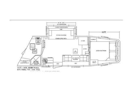 horse trailer floor plans pin by equine rv on living quarter floor plans pinterest