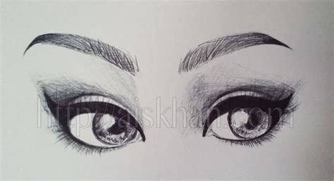 Sketches Eyebrows by Eyebrows Ayesha Khan