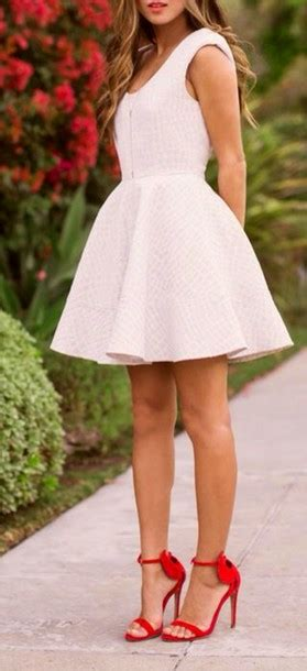 white skirts  summer dresses  miladiesnet