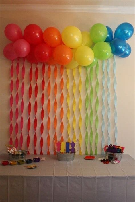 Birthday Wall Decorations by 17 Best Ideas About Streamer Wall On Photo