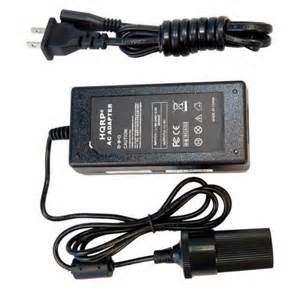 Electric Air With Car Adapter Hqrp 12v 10a Heavy Duty Converter For Portable Car Auto