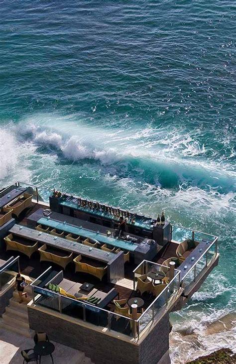 cliff top bar bali le 99 migliori idee su bars su pinterest ristorante