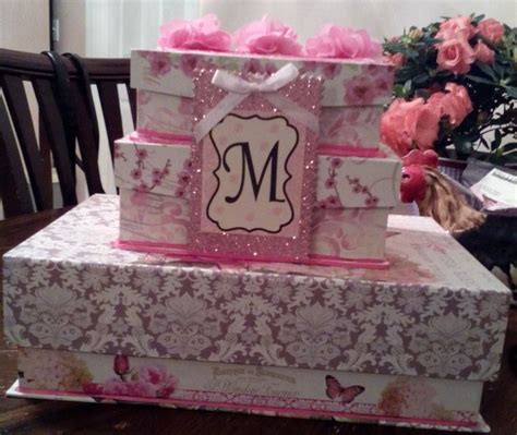 Quinceanera Gift Card Box - quinceanera box for cards pretty quiceanera pinterest