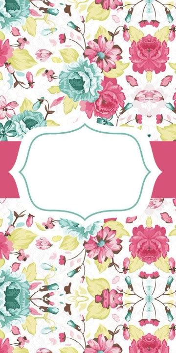 tarjeta de 15 floral chic tarjetas de 15 los fondos para tarjetas de 15 a 241 os para imprimir deseados