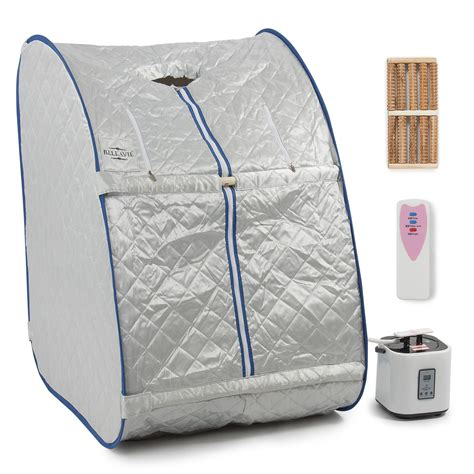 Spa Portable Steam Sauna 2l portable steam sauna spa slimming detox therapy loss weight chair ebay