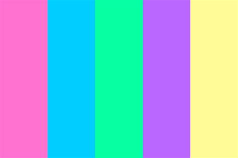 hex color palette vaporwave color palette
