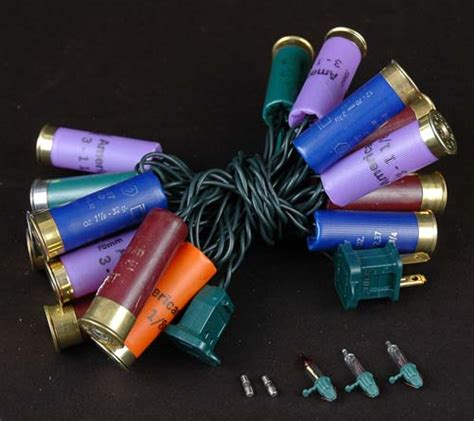 shotgun shell lights multi colored shotgun shell string lights novelty lights inc