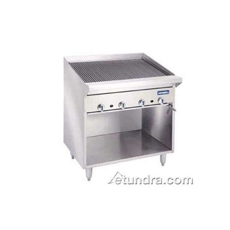 Countertop Broiler by Imperial Iabrf 48 48 In Radiant Steakhouse Charbroiler