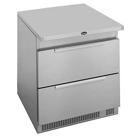 randell freezer undercounter 32 quot 2 drawers 1 section