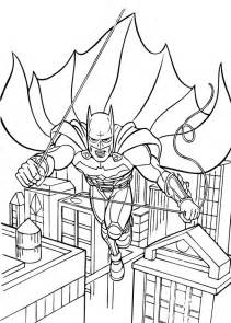 batman color batman flying coloring pages hellokids