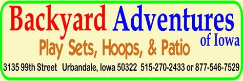 backyard adventures of iowa des moines indoor play guide