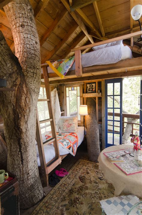 tree house bedroom treehouse rustic bedroom san francisco by alex
