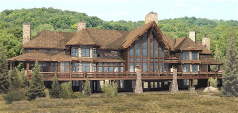 log and stone house plans luxury home designs luxury log home plans natural stone