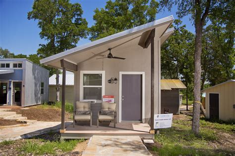 Tiny Houses in Austin Are Helping the Homeless, but It