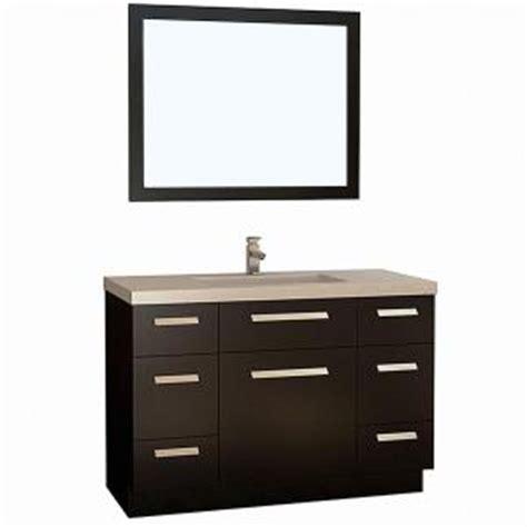 home depot design element vanity design element moscony 48 in w x 22 in d vanity in