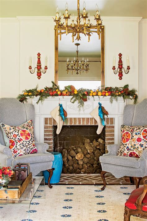 favorite living rooms decorated  christmas