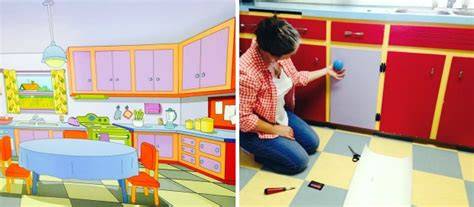 The Simpsons kitchen comes to life in Calgary home