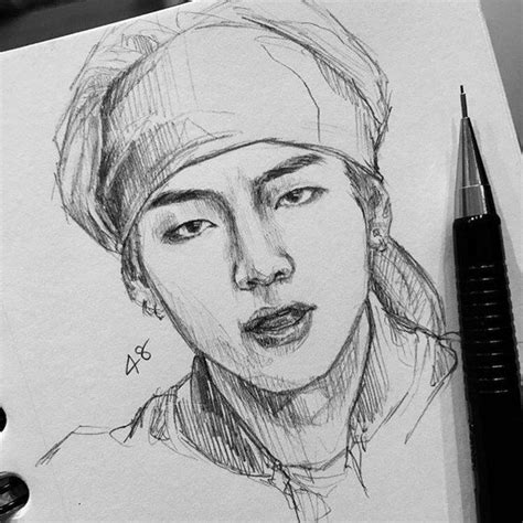 Kpop Drawing by 358 Best Bts Drawing Images On Bts Chibi Bts