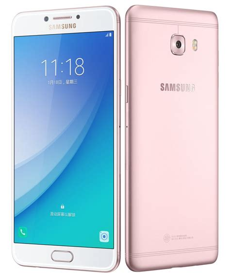samsung galaxy c7 pro with 5 7 inch 1080p display snapdragon 626 16mp front and rear cameras