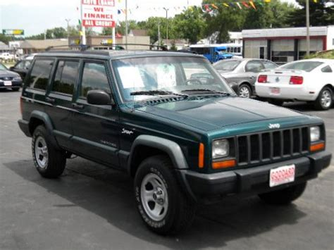 Jeeps For Sale In Il 1998 Jeep Sport 4x4 For Sale Goddard Auto Sales
