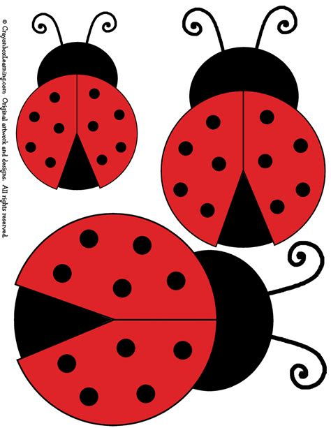 free coloring pages of ladybird mask