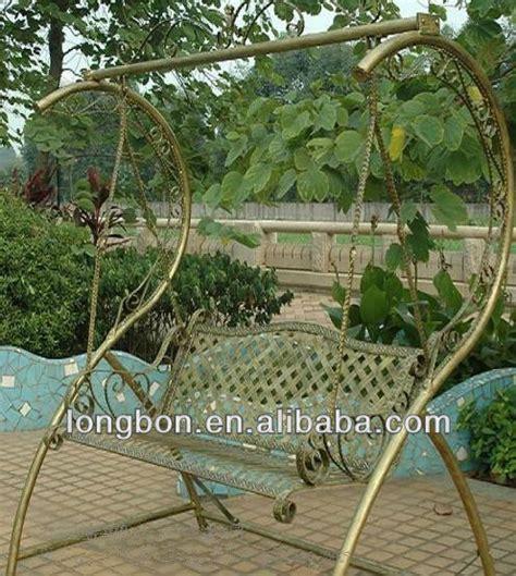 iron garden swing top selling modern garden wrought iron swing buy
