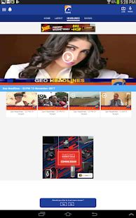 geo news live for mobile geo news apps on play