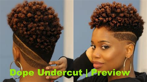cut own hair with clippers for black w0men womens undercut with custom designs preview barbershop
