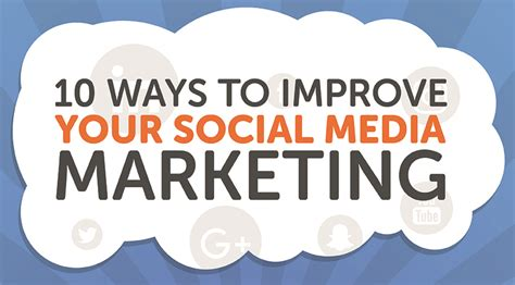 10 Ways To Improve Your Social 10 ways to improve your social media marketing xpand