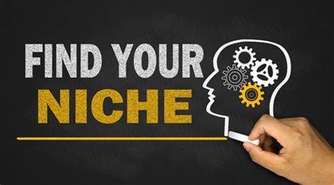 Find Your Niche Marketing Finding Your Ideal Target Market
