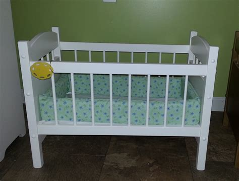 Doll Crib by American Reborn Doll Crib Bed Wood By Alaratessalexbres