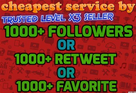 provide 1000 twitter followers or 1000 retweet or 1000