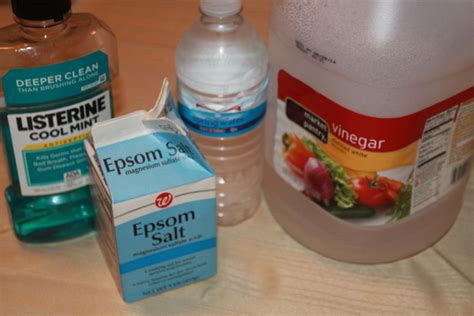 Foot Detox Recipe Snopes by Diy Listerine Vinegar Foot Bath Momeefriendsli