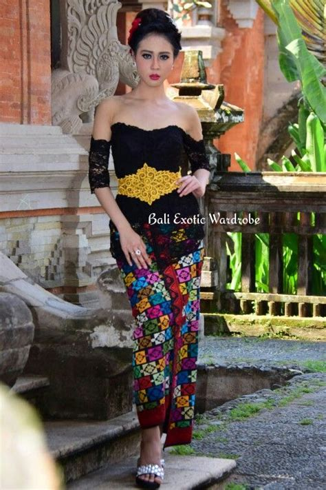 model kebaya bali kebaya brokat modif design and made by bali exotic