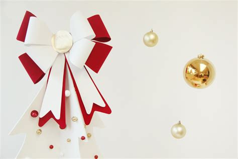 christmas bow topper diy 12 diy bows and crafts with them shelterness