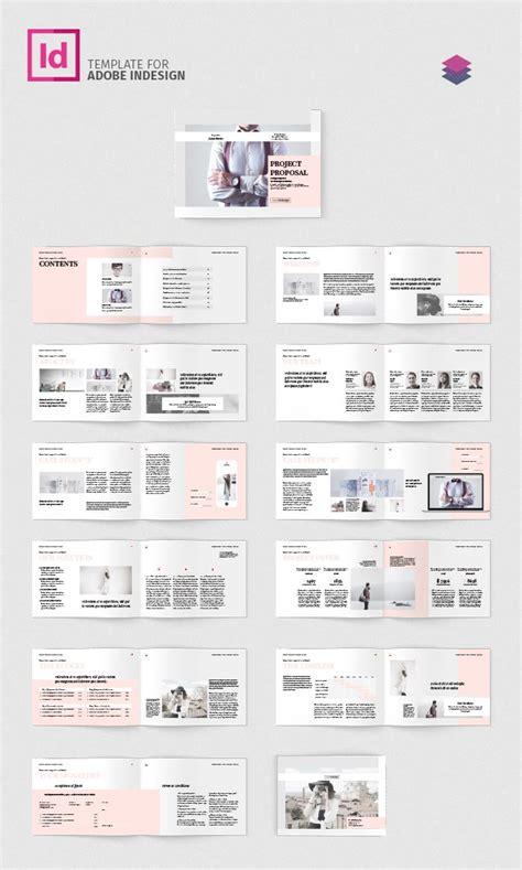 indesign layout landscape project proposal landscape adobe indesign templates