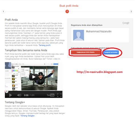 membuat profil gmail tutorial membuat blog sriyuliatipoenya
