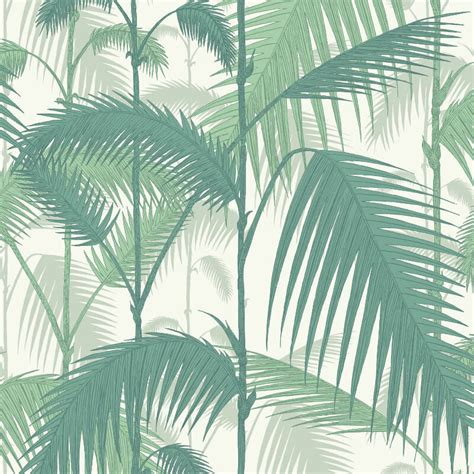 Emerald Green Wallpaper Uk | cole son palm jungle emerald green wallpaper