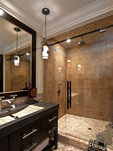 Shower Designs For Bathrooms Mediterranean Bathroom Design For The Home Pinterest