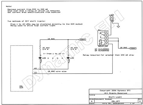 shift light wiring diagram wiring diagram and schematics