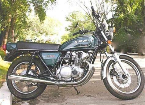 1978 suzuki gs550 classic motorcycle pictures