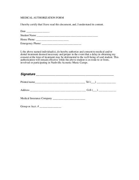 Financial Release Letter Free Printable Liability Document Form Generic