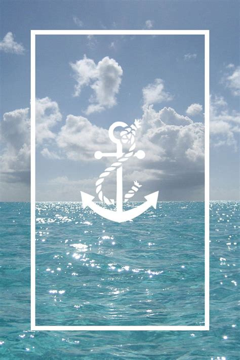 wallpaper for iphone 6 tumblr summer anchor ocean wallpaper anchors pinterest summer