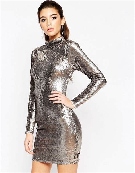 Asos Bring Us Another Style Gold Sequin Dress by Isla Fisher Attends Instyle Awards After New Bombs At