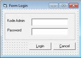 membuat form login pada visual basic membuat form login pada vb 6 0 pintar vb tutorial
