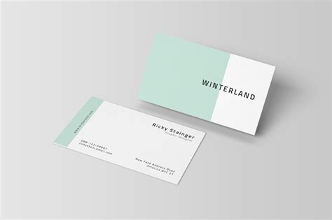 Simple Business Card Website Template by Simple Business Card Template Inspiration Cardfaves