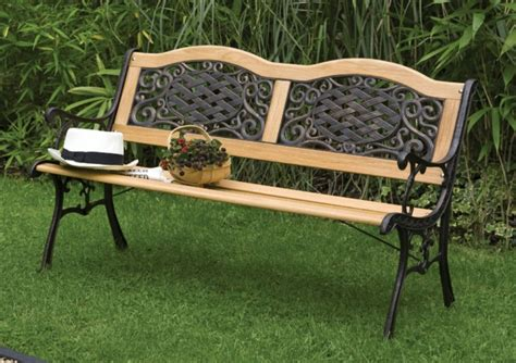 Gartenbank Metall   Jeder Garten braucht eine schöne Bank